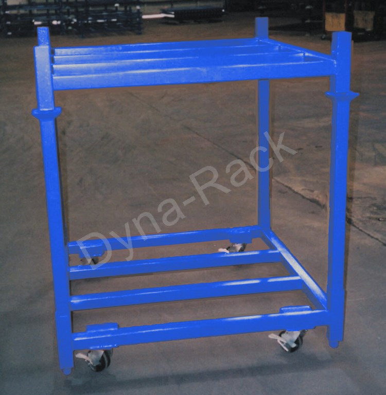 Stackable cart. stack rack