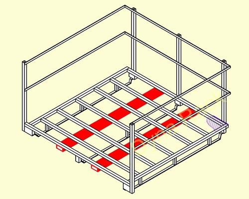Manufacturer. stack racks. stackable racks. pallet frames. stacking racks.