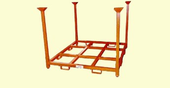 Manufacturer, stack racks, stackable carts, pallet frams, stacking racks.